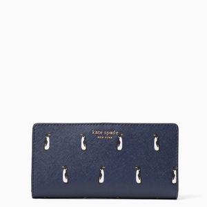 Cameron Penguin Large Slim Bifold Wallet